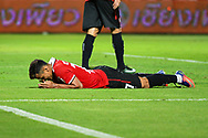 NONTHABURI, THAILAND - JULY 02: Assumpcao of SCG Muangthong United reaction during the first half of the Thai League: SCG Muangthong United vs Pattaya United at SCG Stadium, Nonthaburi, Thailand on July 02, 2017.<br /> .<br /> .<br /> .<br /> (Photo by: Naratip Golf Srisupab/SEALs Sports Images)<br /> .<br /> Any image use must include a mandatory credit line adjacent to the content which should read: Naratip Golf Srisupab/SEALs Sports Images