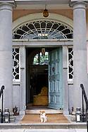 Front door of Longueville House