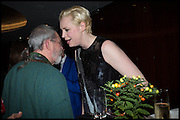 TERRY GILLIAM; GWENDOLINE CHRISTIE, Liberatum Cultural Honour for Francis Ford Coppola<br /> with Bulgari Hotel & Residences, London. 17 November 2014