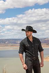 cowboy on a ranch