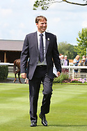 Chief Executive and Clerk of the Course William Derby during the John Smiths Cup Meeting at York Racecourse, York, United Kingdom on 12 July 2019.