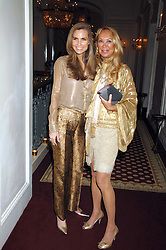 Left to right, CYNTHIA OTT and HANNAH DANEMZA at a party to celebrate the launch of The Essential Party Guide held at the Mandarin Oriental Hyde Park, 66 Knightsbridge, London on 27th March 2007.<br /><br />NON EXCLUSIVE - WORLD RIGHTS