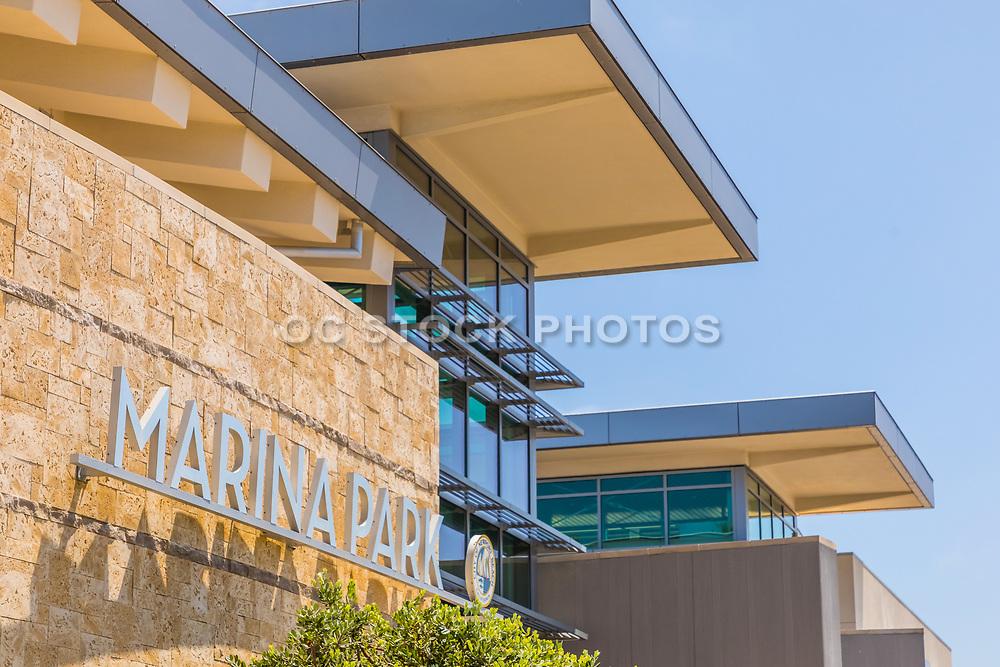 Marina Park Metal Signage