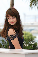 Actress Sophie Desmarais at the 'Sarah Prefere La Course' (Sarah Would Rather Run) film photocall at the Cannes Film Festival Tuesday 21 May 2013