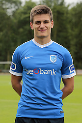 June 27, 2017 - Horst, Pays Bas - HORST, THE NETHERLANDS - JUNE 27 : Joakim Maehle of KRC Genk pictured during the summer training camp of KRC Genk at the training grounds of Wittenhorst on June 27, 2017 in Horst The Netherlands , 27/06/17 (Credit Image: © Panoramic via ZUMA Press)
