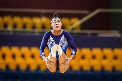 October 28, 2018 - Doha, Quatar - Marine Boyer of France   during  Floor  qualification at the Aspire Dome in Doha, Qatar, Artistic FIG Gymnastics World Championships on 28 of October 2018. (Credit Image: © Ulrik Pedersen/NurPhoto via ZUMA Press)