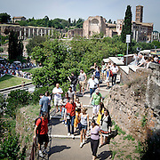 Turisti a Roma<br /> Tourists in Rome