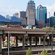 Kansas City Skyline view from near Union Station