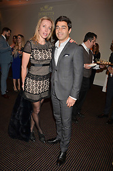 Dr Yannis & Eva Alexandridis at the Debrett's 500 Party recognising Britain's 500 most influential people, held at BAFTA, 195 Piccadilly, London England. 23 January 2017.