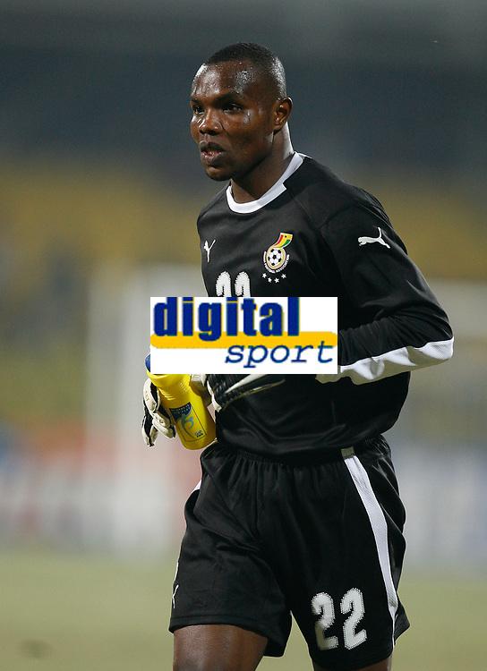 Photo: Steve Bond/Richard Lane Photography.<br />Ghana v Namibia. Africa Cup of Nations. 24/01/2008. Richard Kingson of Ghana and Birmingham City