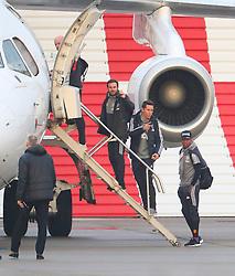 Juan Mata, Ander Herrea and Ashley Young.
