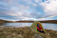 Blea Tarn was much earlier than we'd intended to stop the first night - but poor weather forced an early stop.