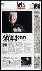 1998 Arts profile of Robert Ward