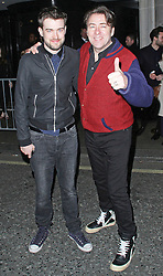 © Licensed to London News Pictures. 19/02/2014, UK. Jack Whitehall & Jonathan Ross, The BRIT Awards 2014 - Warner Music After Party, The Savoy, London UK. Photo credit : Brett D. Cove/Piqtured/LNP