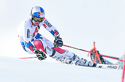 19.12.2018, Saalbach Hinterglemm, AUT, FIS Weltcup Ski Alpin, Riesenslalom, Herren, 1. Lauf, im Bild Alexis Pinturault (FRA) // Alexis Pinturault of France in action during his 1st run of men's Giant Slalom of FIS ski alpine world cup. Saalbach Hinterglemm, Austria on 2018/12/19. EXPA Pictures © 2018, PhotoCredit: EXPA/ Erich Spiess