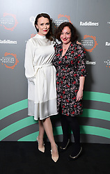 Keeley Hawes and Lucy Cohu during the BFI and Radio Times Television Festival at the BFI Southbank, London.
