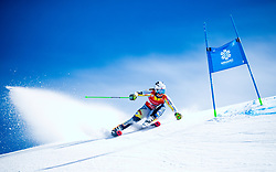 Marte Monsen (NOR) during giant slalom race at FIS European Cup Krvavec 2021, February 2, 2021 in Krvavec, Cerklje na Gorenjskem, Slovenia. Photo by Matic Klansek Velej / Sportida