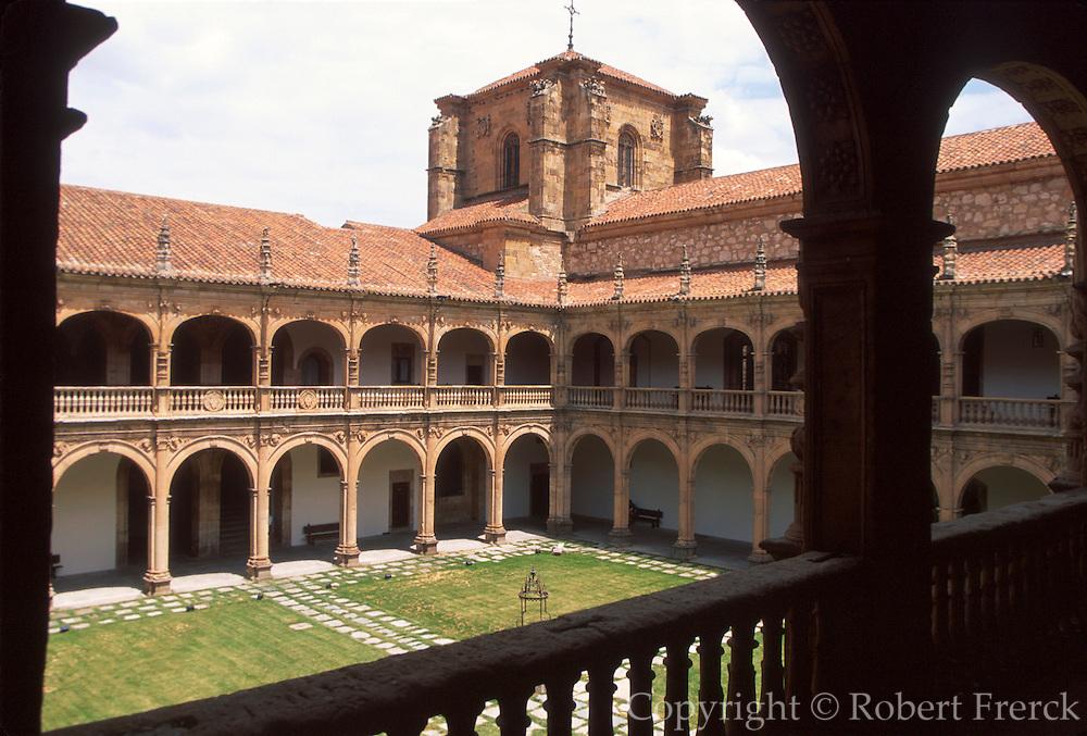 SPAIN, CASTILE, SALAMANCA University; Fonseca College arches