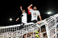 Joie Angers - Khaled AYARI - Accession en L1 - 22.05.2015 - Angers / Nimes - 38eme journee Ligue 2<br />Photo : Nolwenn Le Gouic / Icon Sport