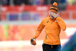 16-02-2014 SCHAATSEN: OLYMPIC GAMES: SOTSJI<br /> Jorien ter Mors pakt het goud op de 1500 meter<br /> ©2014-FotoHoogendoorn.nl