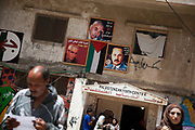 A Palestinian youth center in Shatila refugee camp. The camp was set up in 1948 and thousands of Palestinians have lived there ever after.