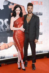 Actors  Krysten Ritter and Eka Darville attends the 'Marvel's The Defenders' New York Premiere at Tribeca Performing Arts Center in New York, NY, on on July 31, 2017. (Photo by Anthony Behar) *** Please Use Credit from Credit Field ***