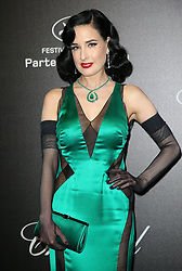 May 18, 2019 - Cannes, France - Dita von Teese. ''Love'' party Chopard in Cannes 2019.. Pictures: Laurent Guerin / EliotPress Set ID: 600942....239424 2019-05-17  Cannes France. (Credit Image: © Laurent Guerin/Starface via ZUMA Press)