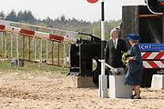 Queen Beatrix has opend  the longest nature bridge in the world: nature bridge Zanderij Crailoo .Zanderij Crailoo is 800 meters long and bridge of the largest barriers between the nature areas in the Netherlands<br /> <br /> Koningin Beatrix heeft op woensdagmiddag 3 mei in Hilversum de langste natuurbrug ter wereld: Natuurbrug Zanderij Crailoo geopent Natuurbrug Zanderij Crailoo is 800 meter lang en overbrugt een van de grootste barrières tussen de natuurgebieden in het Gooi.