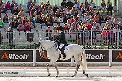 Helen Kearney, (IRL), Mister Cool - Freestyle Grade Ia Para Dressage - Alltech FEI World Equestrian Games™ 2014 - Normandy, France.<br /> © Hippo Foto Team - Leanjo de Koster<br /> 25/06/14