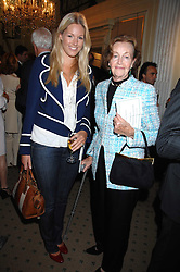 Left to right, MARINA FOGLE and her grandmother EVELYN KUHLMANN at a private view of portraits, Still-Lives and Statues by artists Barbara Kaczmarowska Hamilton and Simon Boudard held at Partridge Fine Art Ltd, New Bond Street, London on 16th May 2007.<br /><br />NON EXCLUSIVE - WORLD RIGHTS