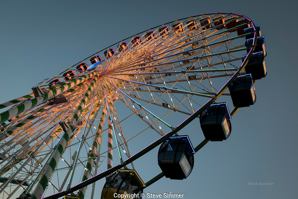 The Minnesota State Fair has a new ride.  Slow, but offers a great view.
