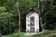 Religious shrine near  Lake Bled Slovenia.