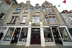 Exterior of The Grand Hotel on Commercial Street in Lerwick, Shetland , Scotland, UK
