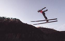 11.01.2019, Stadio del Salto, Predazzo, ITA, FIS Weltcup Skisprung, Val di Fiemme, Herren, Training, im Bild Piotr Zyla (POL) // Piotr Zyla of Poland during the training jump of men's FIS Skijumping World Cup at the Stadio del Salto in Predazzo, Itali on 2019/01/11. EXPA Pictures © 2019, PhotoCredit: EXPA/ JFK