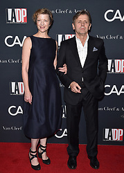 Natalie Portman, Erica Pelosini and others at at L.A. Dance Project's Annual Gala, Los Angeles, CA. 07 Oct 2017 Pictured: Mikhail Baryshnikov,Lisa Rinehart. Photo credit: BAUER-GRIFFIN / MEGA TheMegaAgency.com +1 888 505 6342