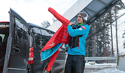 03.01.2016, Bergisel Schanze, Innsbruck, AUT, FIS Weltcup Ski Sprung, Vierschanzentournee, Probedurchgang, im Bild Gregor Schlierenzauer (AUT) // Gregor Schlierenzauer of Austria before his Trial Jump for the Four Hills Tournament of FIS Ski Jumping World Cup at the Bergisel Schanze, Innsbruck, Austria on 2016/01/03. EXPA Pictures © 2016, PhotoCredit: EXPA/ JFK
