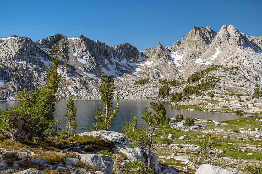 Morning View of Chief Lake, Pacific Crest Trail