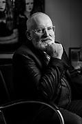 Brussel, Belgium 16 december 2019. portret van FransTimmermans, een Nederlands politicus, diplomaat en eurocommissaris