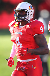 06 Sep 2014: David Perkins during a non-conference NCAA football game between the Delta Devils of Mississippi Valley State and the Redbirds of Illinois State at Hancock Stadium in Normal Il
