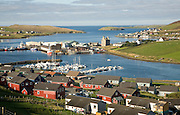 Scalloway village, Shetland Islands, Scotland