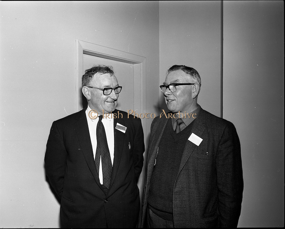 20/04/1970<br /> 04/20/1970<br /> 20 April 1970<br /> Tynagh Mines Dinner Dance at Loughrea, Co. Galway. Peter Finnerty and Thomas Scully, security.