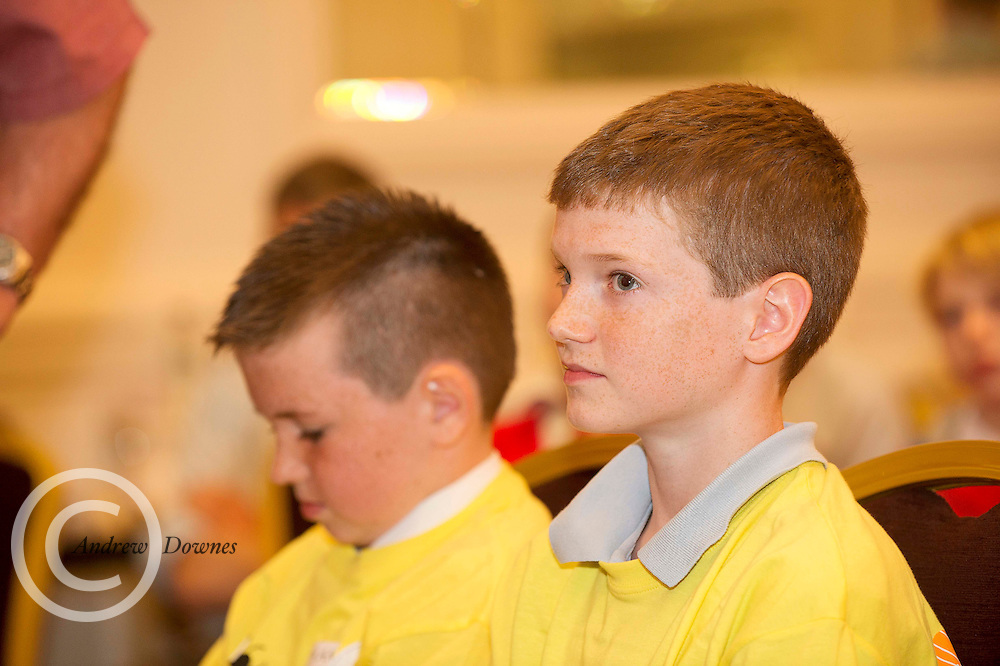 James Clancy Ardvarney National School Dromahair Co Leitrim . at the Eason Spelling Bee in the Hotel Meyrick, Galway from where Ryan Tubridy's show was broadcast . Photo:Andrew Downes..