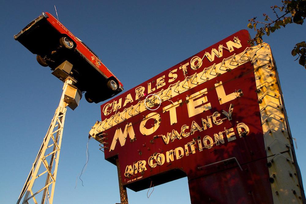 Charlestown Motel Sign, 62' Chevy