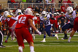 NORMAL, IL - September 21: Joe Logan during a college football game between the ISU (Illinois State University) Redbirds and the Northern Arizona University (NAU) Lumberjacks on September 21 2019 at Hancock Stadium in Normal, IL. (Photo by Alan Look)