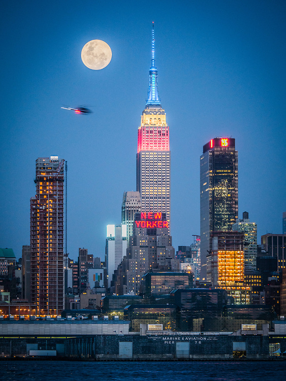 The New Yorker, A Wyndham Hotel, Art Deco inspired hotel and The Empire State Building