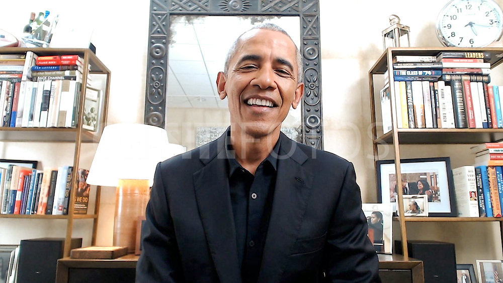 ROLL UP YOUR SLEEVES: PRESENTED BY WALGREENS -- Roll Up Your Sleeves: Presented by Walgreens -- Pictured in this screengrab: President Barack Obama -- (Photo by: NBC)