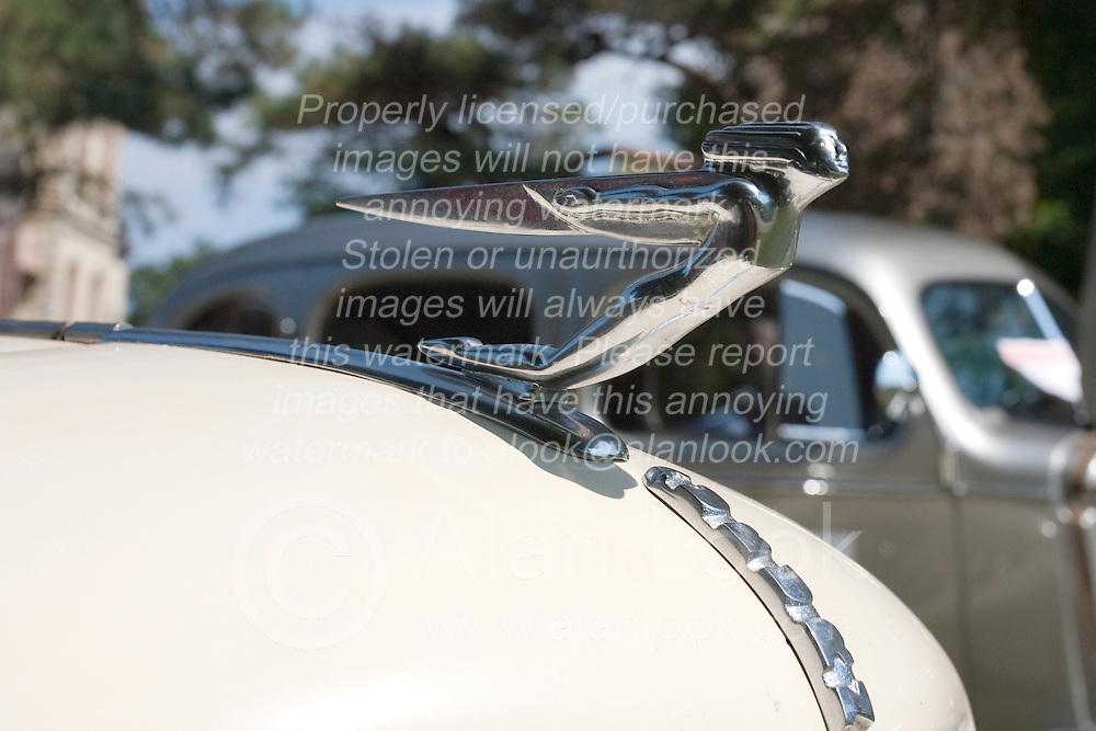7 August 2010: 1935 Auburn Speedster replica model 851Antique Car show, David Davis Mansion, Bloomington Illinois