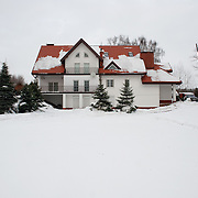 We moved to that house 12 years ago from the centre of Wołomin. Robert was born in Wołomin so we wanted to stay here. It is close to Warsaw but it is a quite and calm area, a nice secure neighborhood. We like the natural environment and that our house borders with the woods.