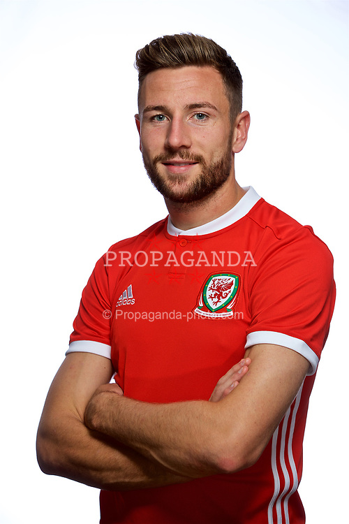 CARDIFF, WALES - Tuesday, September 4, 2018: Wales' Paul Dummett. (Pic by David Rawcliffe/Propaganda)