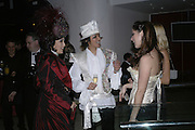 Patti and Andy Wong, Andy and Patti Wong's Chinese New Year of the Pig party. Madame Tussauds. ( Dress Burlesque, Debauched or Hollywood Black Tie. ) London. 27 January 2007.  -DO NOT ARCHIVE-© Copyright Photograph by Dafydd Jones. 248 Clapham Rd. London SW9 0PZ. Tel 0207 820 0771. www.dafjones.com.